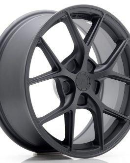 JR Wheels SL01 17×7 ET20-40 5H BLANK Matt Gun Metal