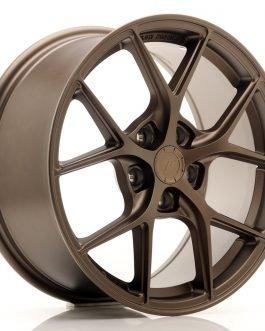 JR Wheels SL01 17×8 ET35 5×100 Matt Bronze