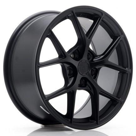 JAPAN RACING JR Wheels SL01 17x8 ET40 5x112 Matt Black 8.00x17