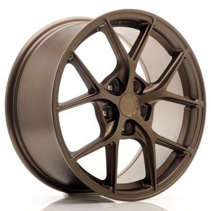 JAPAN RACING JR Wheels SL01 17x8 ET40 5x112 Matt Bronze 8.00x17