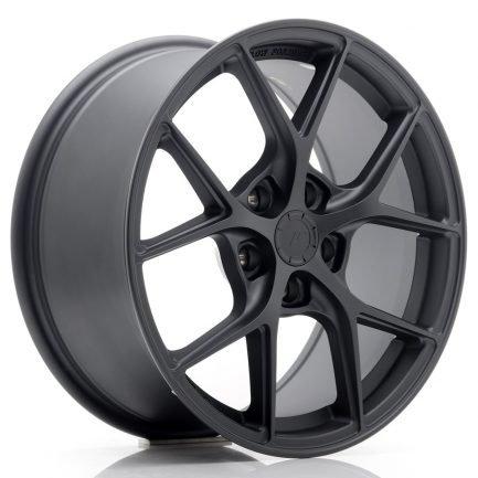 JAPAN RACING JR Wheels SL01 17x8 ET40 5x112 Matt Gun Metal 8.00x17