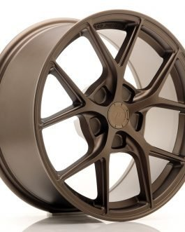 JR Wheels SL01 17×8 ET20-45 5H BLANK Matt Bronze
