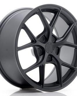 JR Wheels SL01 17×8 ET20-45 5H BLANK Matt Gun Metal