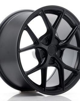 JR Wheels SL01 17×9 ET20-50 5H BLANK Matt Black