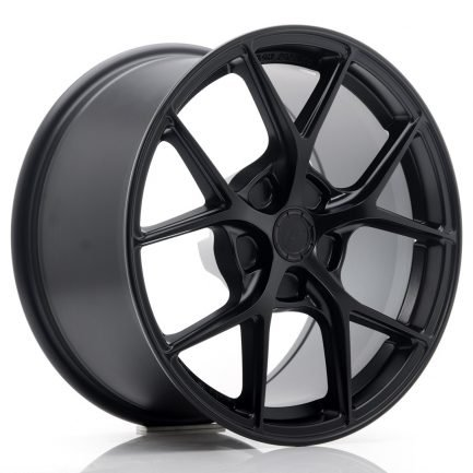 JAPAN RACING JR Wheels SL01 17x9 ET20-50 5H BLANK Matt Black 9.00x17