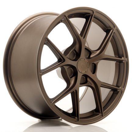 JAPAN RACING JR Wheels SL01 17x9 ET20-50 5H BLANK Matt Bronze 9.00x17