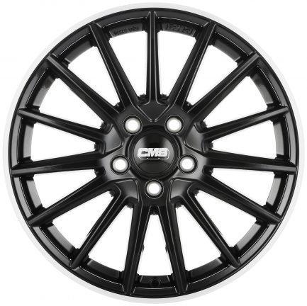 CMS C23 Diamond Rim Black 8x20 ET: 44 - 5x108