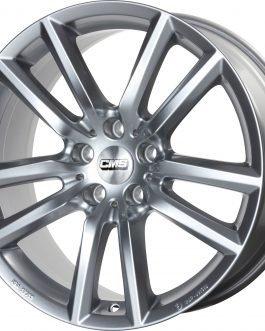 CMS C27 Racing Silver 7.5×17 ET: 38 – 5×112