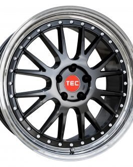 TEC Speedwheels GTE Black polished lip CB: 72.5 10×20 ET: 35 – 5×112