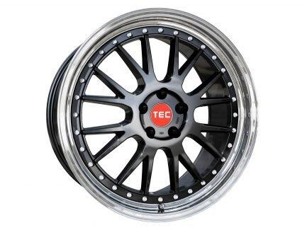 TEC Speedwheels GTE Black polished lip CB: 72.5 10x20 ET: 35 - 5x112