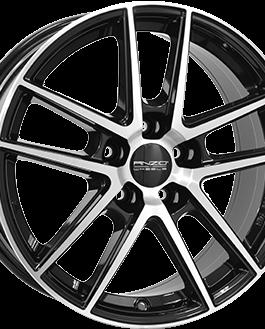 ANZIO SPLIT Gloss Black / Polished 6.5×16 ET: 38 – 5×112