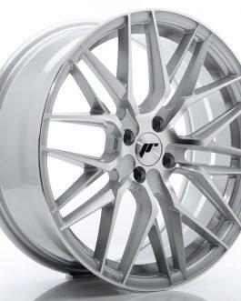JR Wheels JR28 18×7,5 ET40 4×100 Silver Machined Face