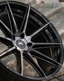 Barracuda PROJECT 2.0 Higloss-Black brushed Surface 10.5×21 ET: 51 – 5×112