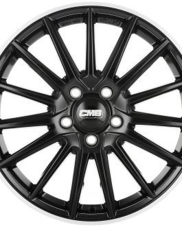 CMS C23 Diamond Rim Black 6.5×16 ET: 46 – 5×112