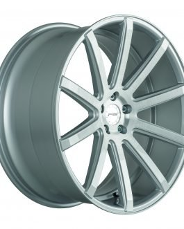 Corspeed DEVILLE Silver-brushed-Surface 9.5×22 ET: 40 – 5×114.3