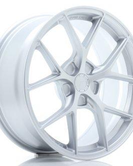 JR Wheels SL01 18×8 ET20-40 5H BLANK Matt Silver