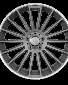Keskin-Tuning KT15 Titan Grey Lip Polish 9.5×18 ET: 45 – 5×112