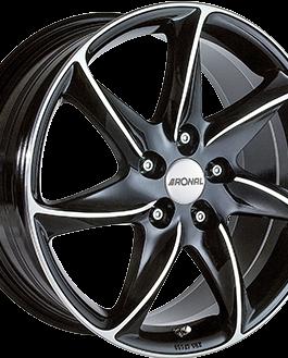 Ronal R51 Gloss Black / Polished 8.0×17 ET: 45 – 5×108