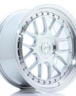 JR Wheels JR40 18×8,5 ET15-35 5H BLANK Silver Machined Face