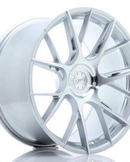 JR Wheels JR42 20×10 ET20-42 5H BLANK Silver Machined Face