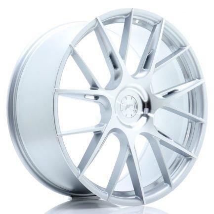 JAPAN RACING JR-Wheels JR42 22x9 ET20-42 5H BLANK Silver Machined Face 9.00x22
